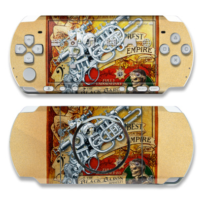 PSP 3000 Skin - The Duelist