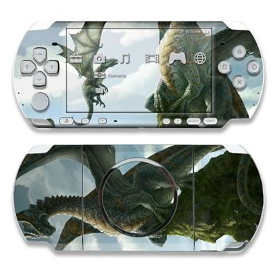 PSP 3000 Skin - First Lesson