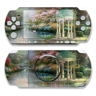 PSP 3000 Skin - Garden Of Prayer