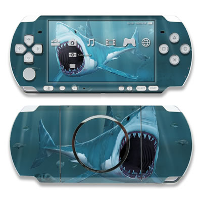 PSP 3000 Skin - Great White