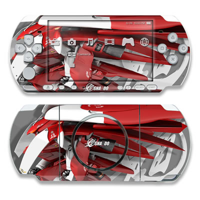 PSP 3000 Skin - Gundam Light