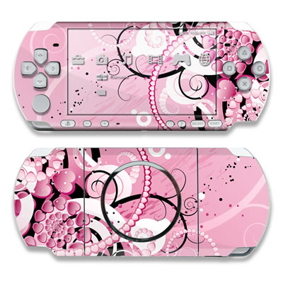 PSP 3000 Skin - Her Abstraction