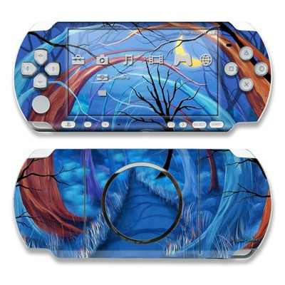 PSP 3000 Skin - Ichabods Forest