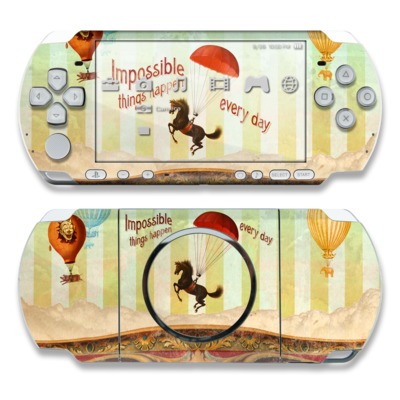 PSP 3000 Skin - Impossible
