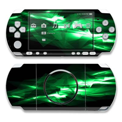 PSP 3000 Skin - Kryptonite