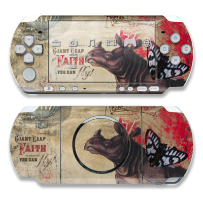 PSP 3000 Skin - Leap Of Faith