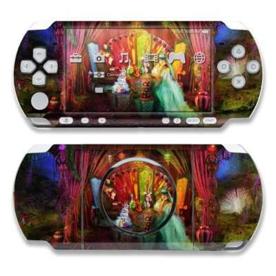 PSP 3000 Skin - A Mad Tea Party