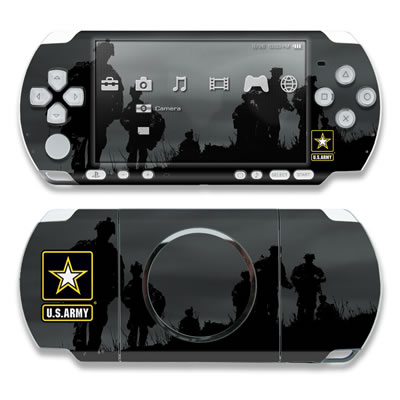 PSP 3000 Skin - Night Action