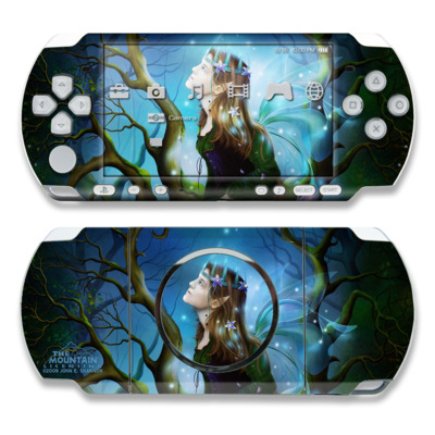 PSP 3000 Skin - Nightshade Fairy