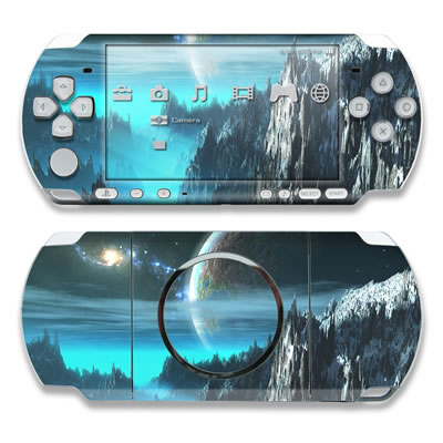 PSP 3000 Skin - Path To The Stars