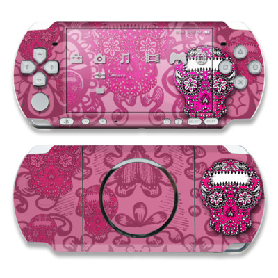 PSP 3000 Skin - Pink Lace