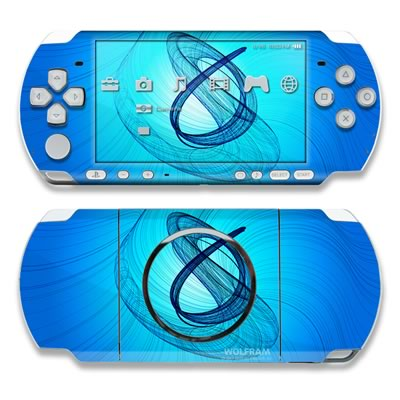 PSP 3000 Skin - Rotating Swirls
