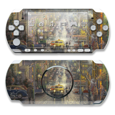 PSP 3000 Skin - Heart of San Francisco