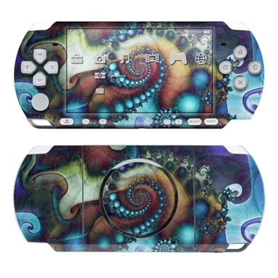 PSP 3000 Skin - Sea Jewel