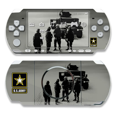 PSP 3000 Skin - Soldiers All