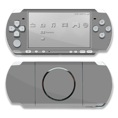 PSP 3000 Skin - Solid State Grey
