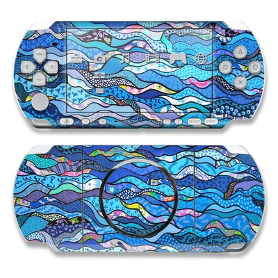 PSP 3000 Skin - The Blues