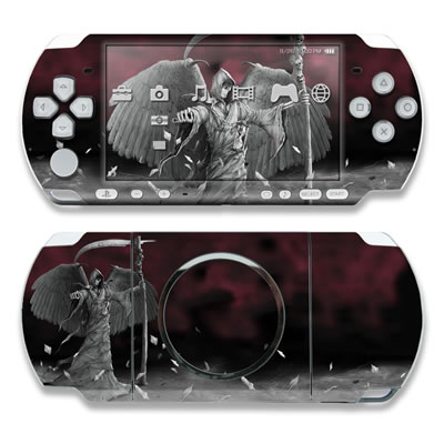 PSP 3000 Skin - Time is Up