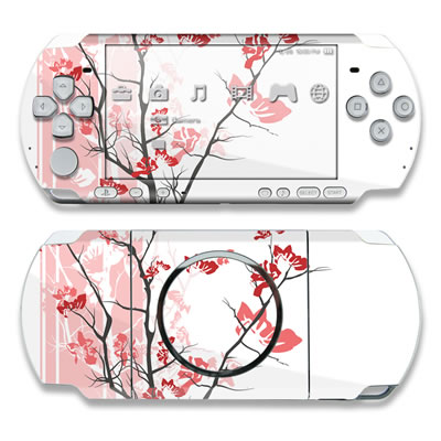 PSP 3000 Skin - Pink Tranquility