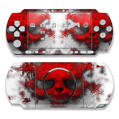 PSP 3000 Skin - War Light