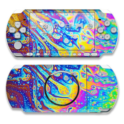 PSP 3000 Skin - World of Soap
