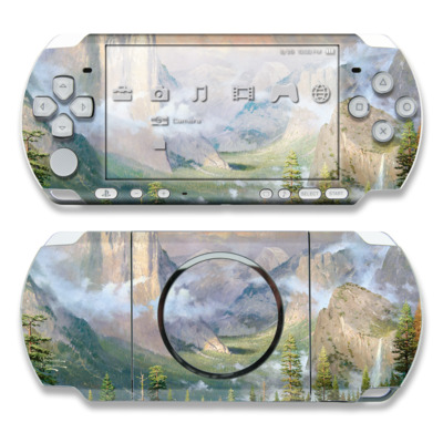 PSP 3000 Skin - Yosemite Valley