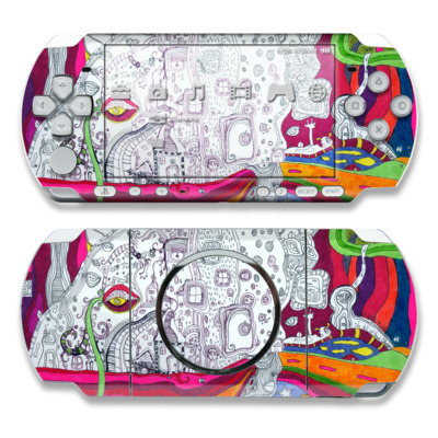 PSP 3000 Skin - In Your Dreams