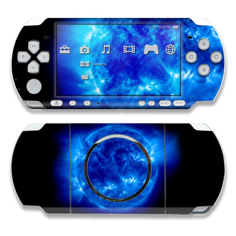PSP 3000 Skin - Blue Giant | DecalGirl