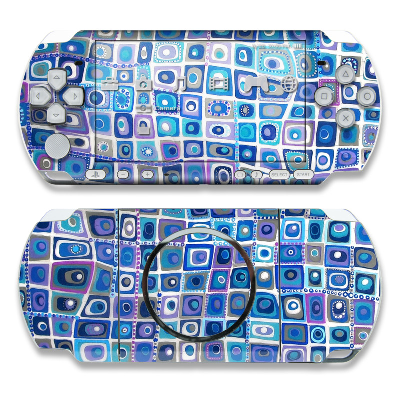 PSP 3000 Skin - Blue Monday by Allison Gregory | DecalGirl