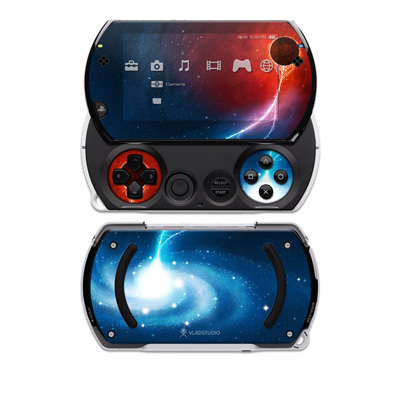 PSP Go Skin - Black Hole
