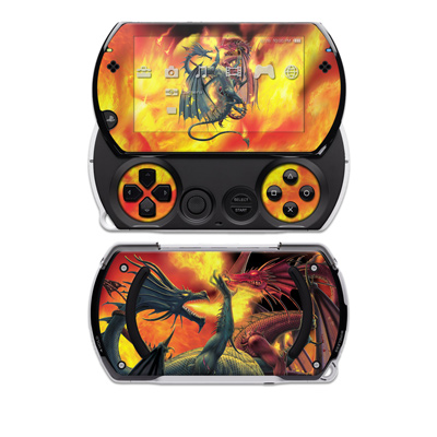 PSP Go Skin - Dragon Wars