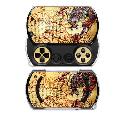 PSP Go Skin - Dragon Legend
