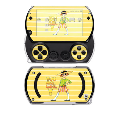 PSP Go Skin - You Go Girl