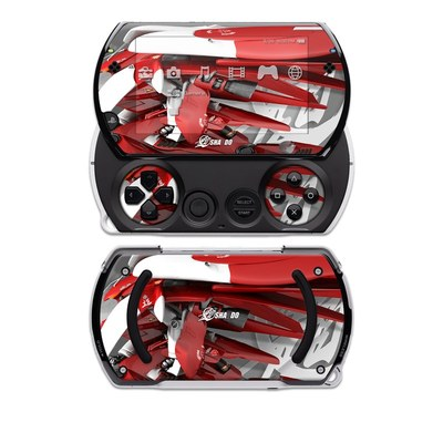 PSP Go Skin - Gundam Light