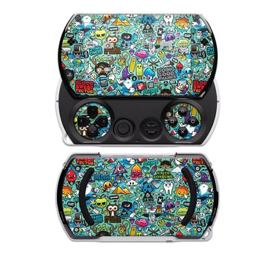 PSP Go Skin - Jewel Thief