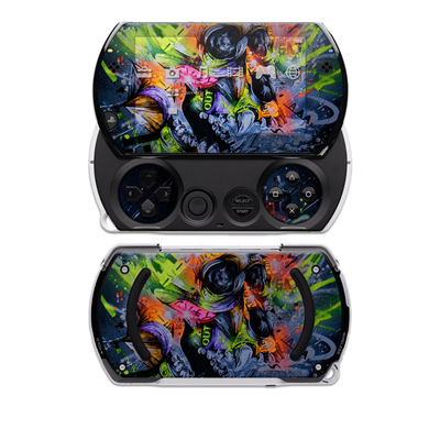 PSP Go Skin - Speak
