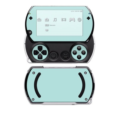 PSP Go Skin - Solid State Mint