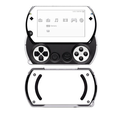 PSP Go Skin - Solid State White