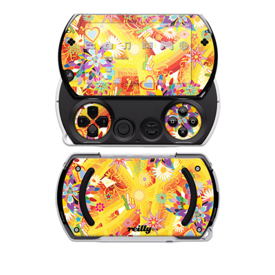 PSP Go Skin - Wall Flower