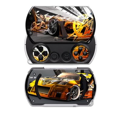PSP Go Skin - Z33 Light