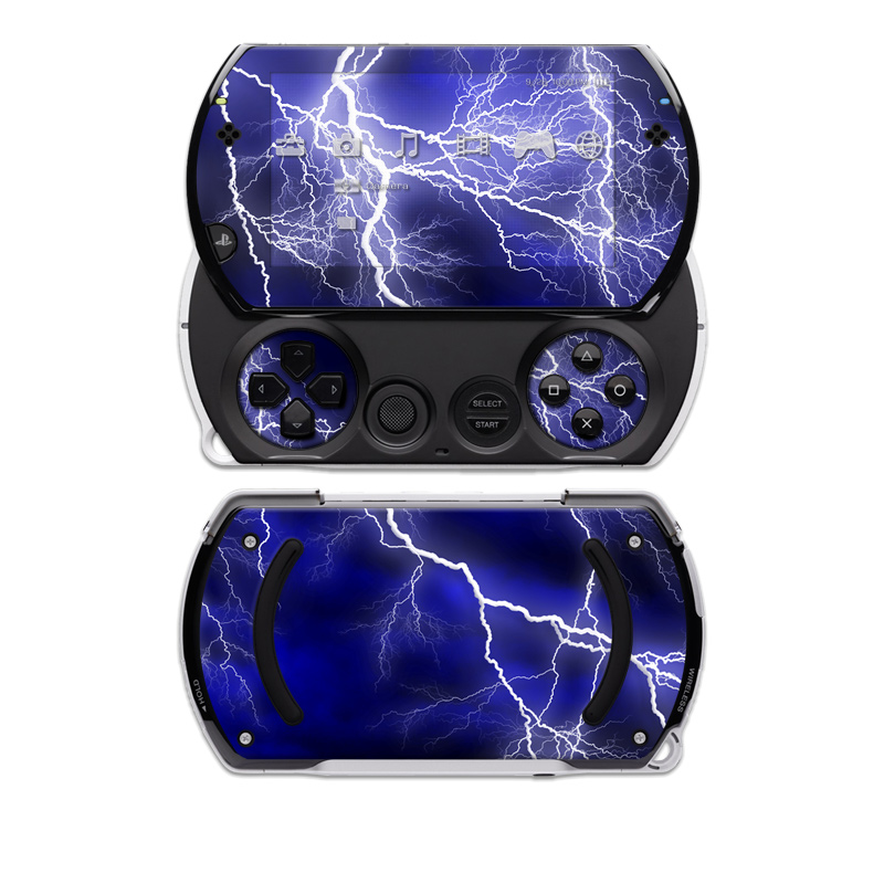 PSP Go Skin - Apocalypse Blue | DecalGirl