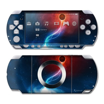 PSP Slim & Lite Skin - Black Hole