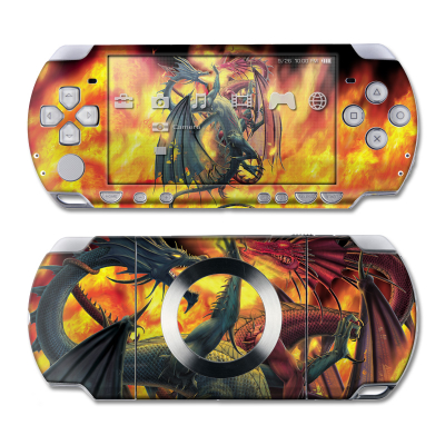 PSP Slim & Lite Skin - Dragon Wars