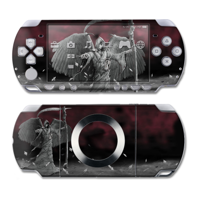 PSP Slim & Lite Skin - Time is Up