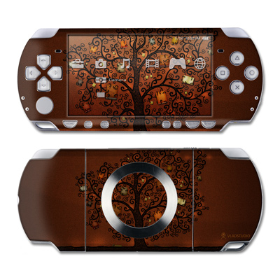 PSP Slim & Lite Skin - Tree Of Books