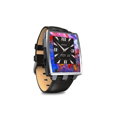 Pebble Steel Smartwatch Skin - Aqua-ese