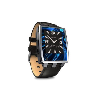 Pebble Steel Smartwatch Skin - Cerulean