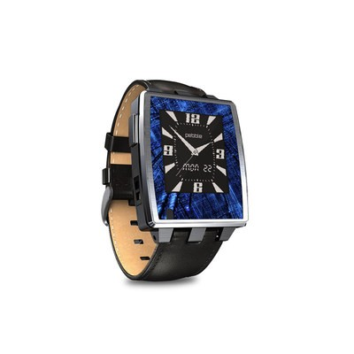 Pebble Steel Smartwatch Skin - Grid