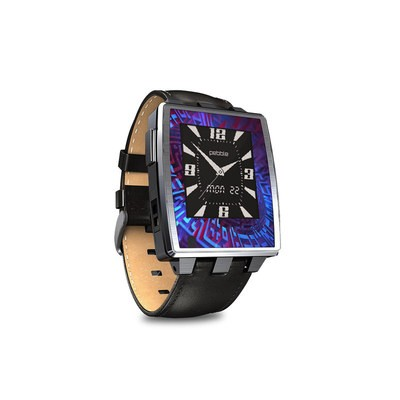 Pebble Steel Smartwatch Skin - Receptor
