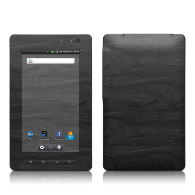 Pandigital Star 7in Skin - Black Woodgrain